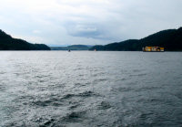 Leaving Seymour Narrows